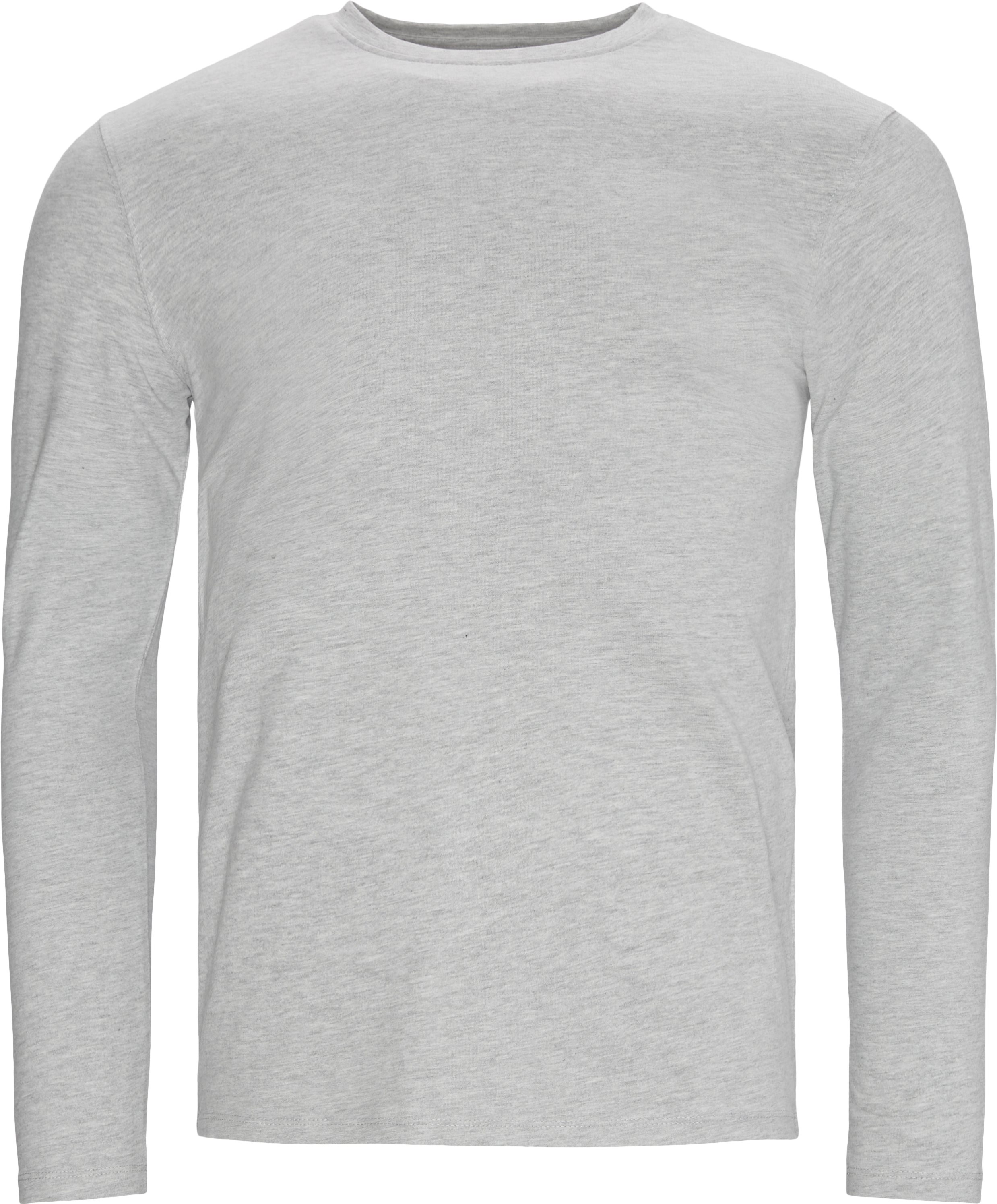Ray Long Sleeve Tee - T-shirts - Regular - Grå